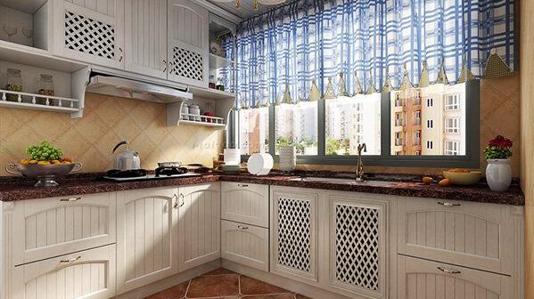欧式厨房装修效果图 令人赏心悦目的厨房