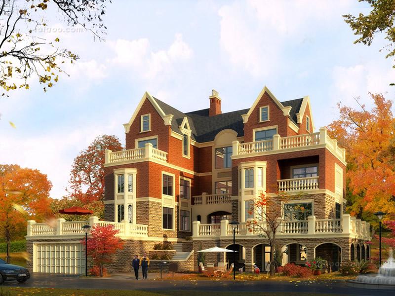楼盘图片精选 英式风格住宅楼盘案例欣赏图片