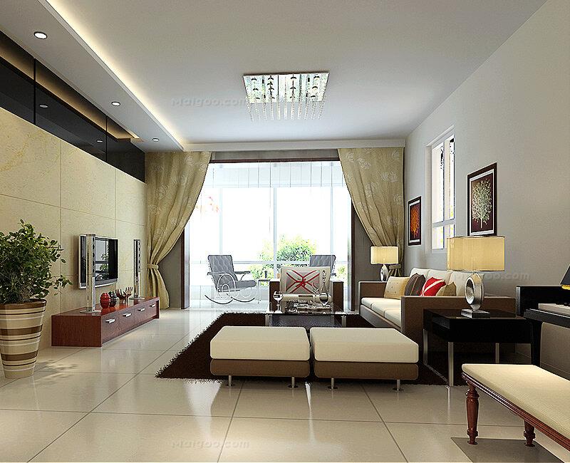 70-90平米户型装修案例 90平米房屋装修效果图