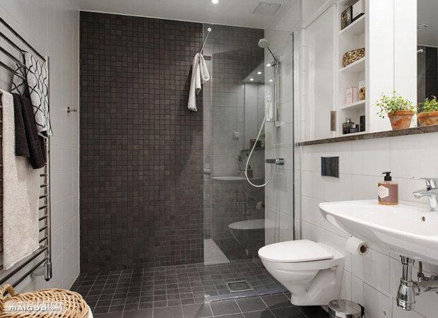 复式三居室设计 北欧风格斜顶阁楼装修效果图图片