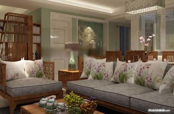 【实木沙发图片大全】中式实木沙发图片 客厅实木沙发