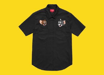 supreme短袖T恤
