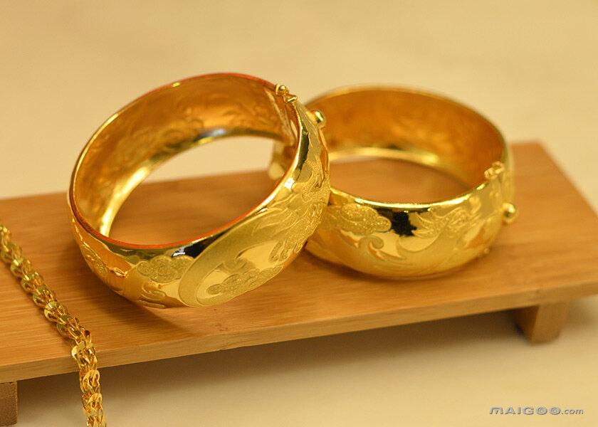 黄金戒指图片欣赏 黄金戒指款式大全图片