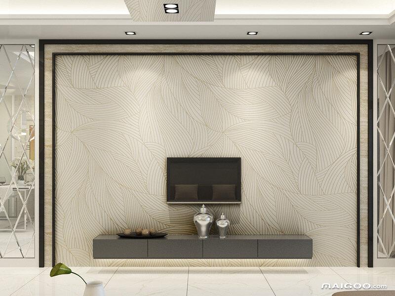 现代简约客厅3d电视背景墙装饰(10/15)