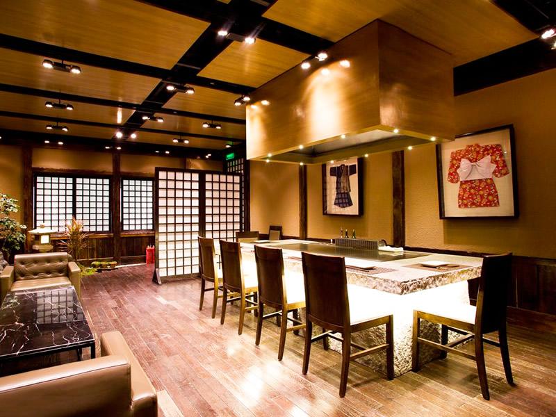 【餐饮连锁店】日式餐厅装修设计效果图
