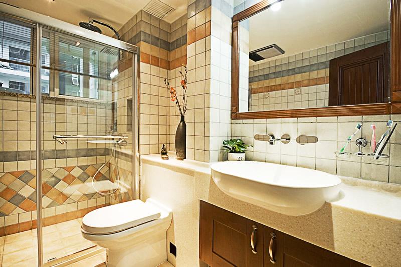 东南亚风格两房两厅家庭装修效果图 生态城云岭邻里