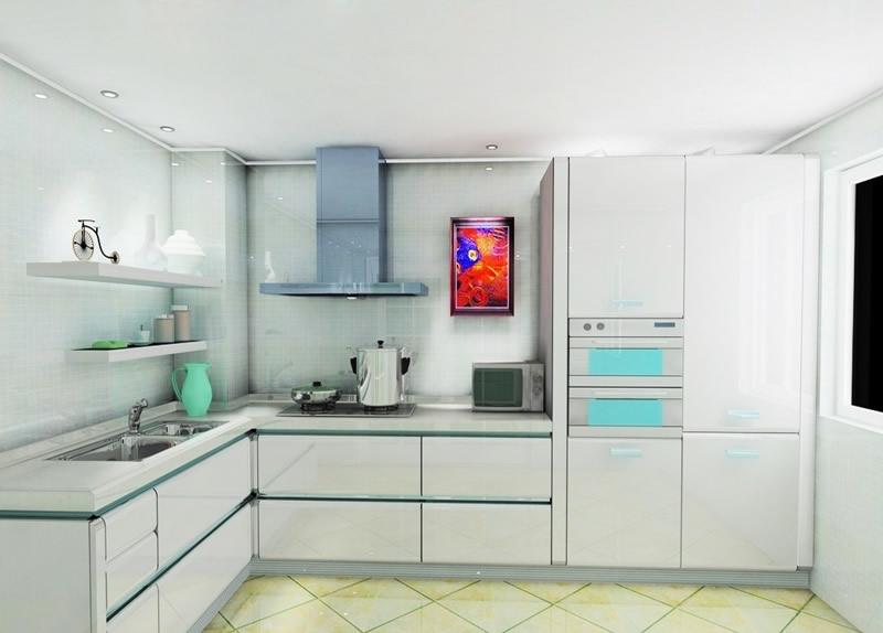 小厨房装修效果图推荐 小户型厨房装修图片图片