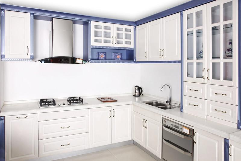 小厨房整体橱柜装修效果图(9/11)图片
