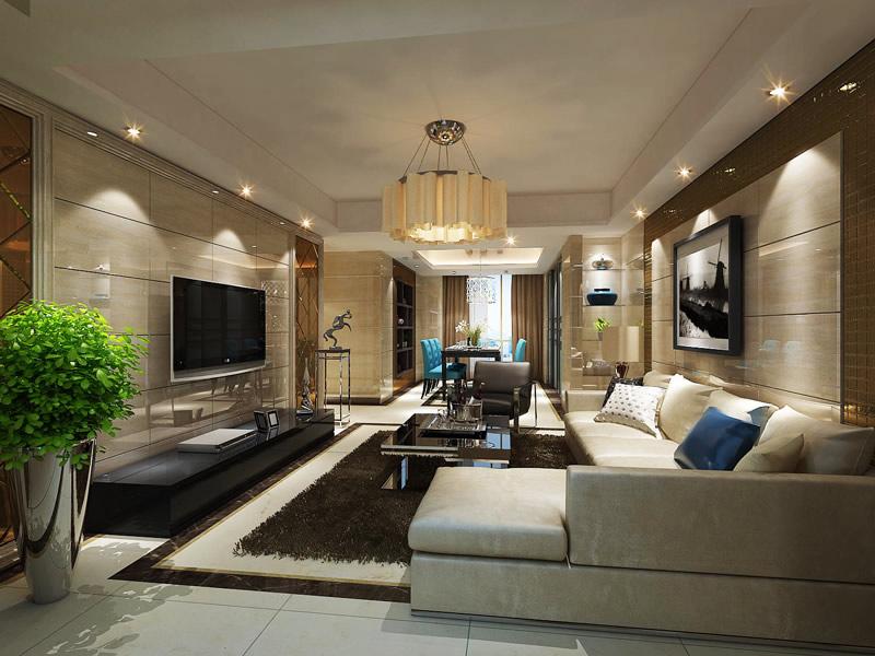 新中式客厅装修效果图 完美演绎传统文化图片