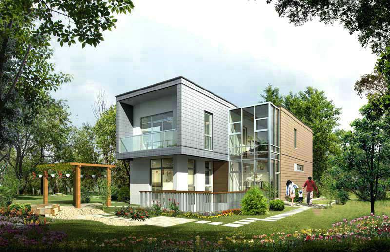 新农村自建房设计图 实现你的别墅梦